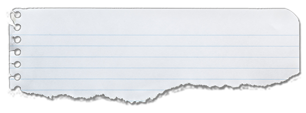 Scrap Notebook Paper Png | www.imgkid.com - The Image Kid ...